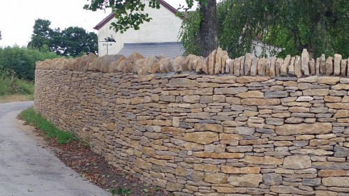 Purbeck Fieldstone Walling