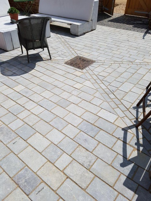 Blue Lias Small Pavers 30 SQM